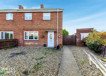 Thumbnail 3 bed semi-detached house for sale in Le Strange Avenue, King's Lynn, Norfolk