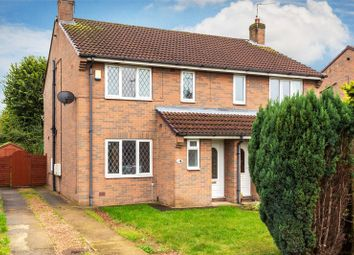 Thumbnail 4 bed semi-detached house for sale in Pinewood Drive, Camblesforth, Selby