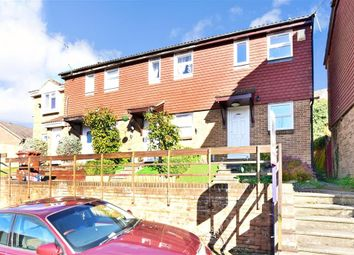 Thumbnail 2 bed end terrace house for sale in Winchelsea Road, Walderslade, Chatham, Kent