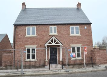 Thumbnail 4 bed detached house for sale in Spring Cottage Road, Overseal, Swadlincote