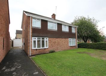 Thumbnail 3 bed semi-detached house for sale in Harwood Avenue, Branston, Burton-On-Trent