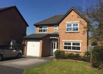Thumbnail 4 bed detached house for sale in Woolley Close, Frodsham, Cheshire