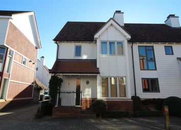 Thumbnail 2 bed semi-detached house to rent in Milton Lane, Kings Hill, West Malling