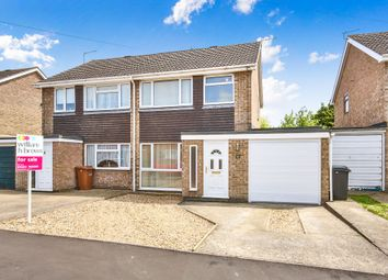 Thumbnail 3 bed semi-detached house for sale in Gowing Road, Mulbarton, Norwich