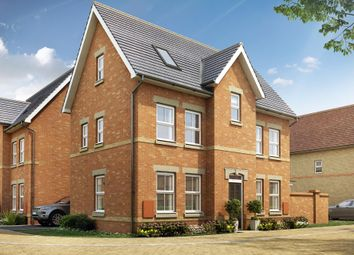 "Thumbnail 4 bedroom detached house for sale in ""Hexham"" at Station Road, Longstanton, Cambridge"