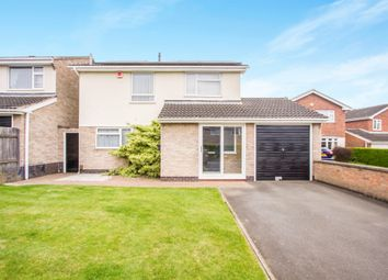 Thumbnail 3 bedroom detached house for sale in Harvest Close, Leicester