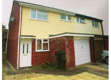 Thumbnail 3 bed semi-detached house for sale in Hine Road, Galmington, Taunton