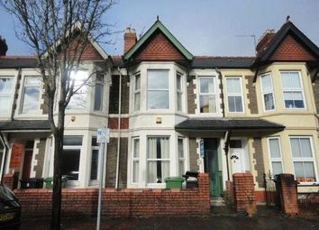 Thumbnail 4 bed terraced house to rent in Canada Road, Gabalfa, Cardiff