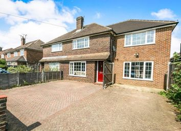 Thumbnail 4 bed semi-detached house for sale in Farncombe, Godalming, Surrey