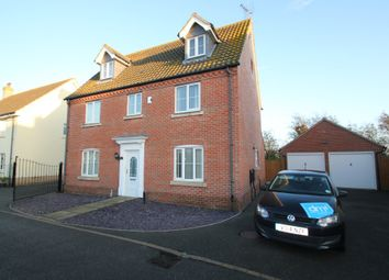 Thumbnail 5 bedroom detached house to rent in Harpers Way, Clacton-On-Sea