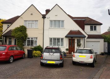 Thumbnail 4 bed semi-detached house for sale in Montcalm Close, Bromley