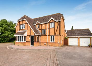 Thumbnail 4 bed detached house for sale in Russet Close, St. Ives, Huntingdon