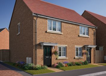 "Thumbnail 2 bed end terrace house for sale in ""The Harcourt"" at Southfield Lane, Tockwith, York"