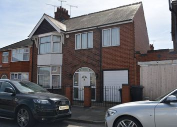 Thumbnail 5 bed semi-detached house for sale in Baslow Road, Off East Park Road, Leicester