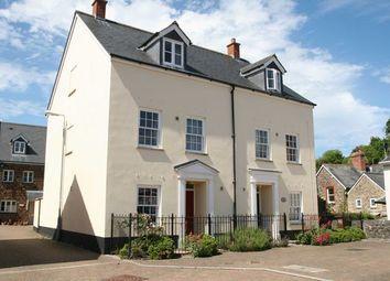 Thumbnail 4 bed semi-detached house to rent in Newton Court, Bampton, Tiverton