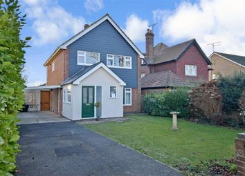 Thumbnail 3 bed detached house for sale in Old Manor Road, Rustington, West Sussex