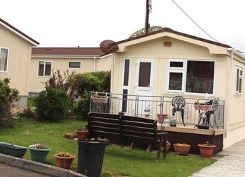 Thumbnail 2 bed mobile/park home for sale in Sun Valley Park, St. Columb