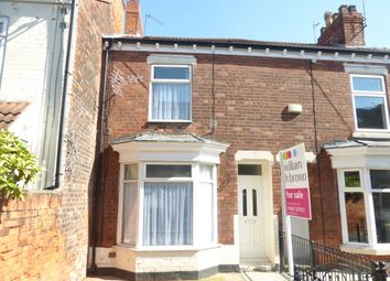Thumbnail 2 bed terraced house for sale in Sunnydene Villas, Estcourt Street, Hull