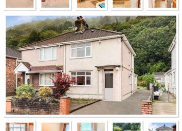 Thumbnail 2 bed semi-detached house for sale in Underwood Road, Cadoxton, Neath