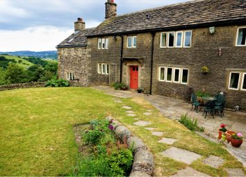 Thumbnail 4 bed detached house to rent in Derbyshire Level, Glossop