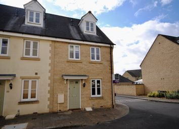 Thumbnail 3 bed end terrace house for sale in Woodley Green, Witney