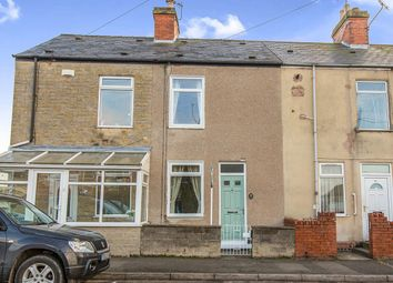 Thumbnail 2 bedroom terraced house for sale in Chesterfield Road, North Wingfield, Chesterfield