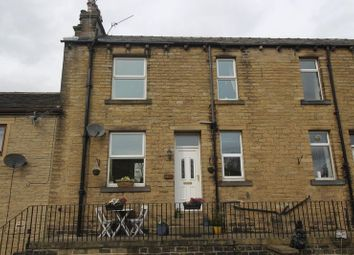 Thumbnail 2 bed terraced house for sale in Rochdale Road, Greetland, Halifax