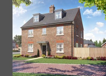 Thumbnail 5 bed detached house for sale in Benner Lane, West End, Surrey