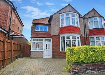 Thumbnail 3 bed semi-detached house to rent in Ashbrooke, Monkseaton, Whitley Bay