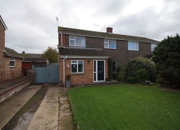 Thumbnail 4 bed semi-detached house for sale in Chestnut Crescent, Shinfield, Reading, Berkshire