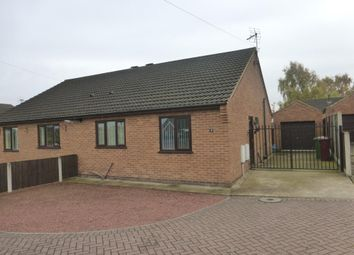 Thumbnail 2 bed semi-detached bungalow for sale in Peterhouse Court, Bottesford, Scunthorpe