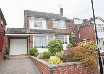 Thumbnail 3 bed detached house for sale in Swinburne Avenue, Coventry