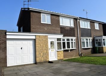 Thumbnail 3 bed semi-detached house for sale in Twyford Close, Cramlington