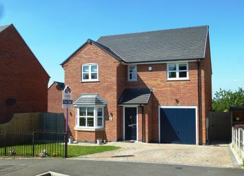 Thumbnail 4 bed detached house for sale in Roby Lea, Castle Donington, Derby
