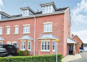 Thumbnail 4 bed end terrace house for sale in Beaumont Road, Flitwick