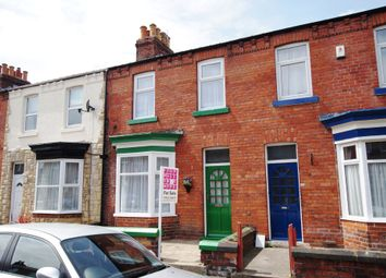 Thumbnail 3 bed terraced house to rent in Milton Avenue, Scarborough