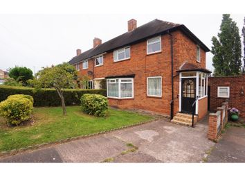 Thumbnail 3 bed end terrace house for sale in Lingard Road, Sutton Coldfield