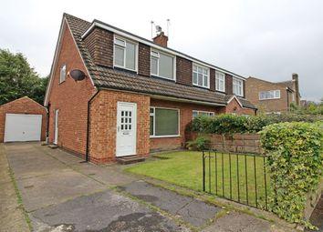 Thumbnail 3 bedroom semi-detached house for sale in Highwood Avenue, Moortown, Leeds