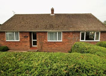 Thumbnail 3 bed detached bungalow for sale in Hall Road, New Costessey, Norwich