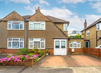 Thumbnail 4 bed semi-detached house for sale in Fairhaven Road, Redhill