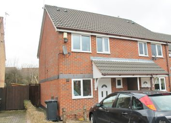 Thumbnail 2 bed semi-detached house to rent in Belfry Drive, Western Park, Leicester