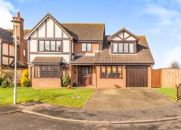 Thumbnail 4 bed detached house for sale in Westcott, Welwyn Garden City