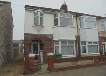 Thumbnail 3 bed end terrace house to rent in Stride Avenue, Portsmouth
