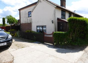 Thumbnail 3 bedroom cottage to rent in Station Road, Great Moulton, Norwich