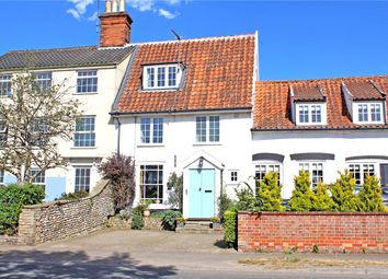Thumbnail 3 bed terraced house for sale in High Street, Wrentham, Beccles, Suffolk