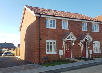 Thumbnail 3 bed semi-detached house for sale in Shackeroo Road, Bury St. Edmunds