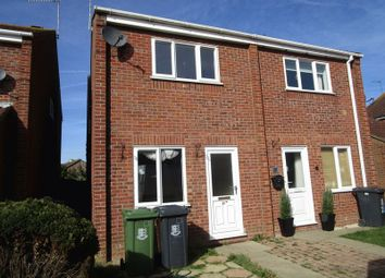 Thumbnail 2 bedroom semi-detached house to rent in Cadiz Way, Hopton, Great Yarmouth