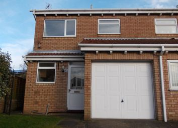 Thumbnail 2 bed semi-detached house to rent in Frobisher Grove, Maltby, Rotherham