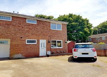 Thumbnail 3 bed end terrace house to rent in Wetherby Gardens, Totton, Southampton