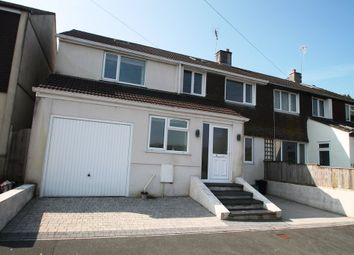 Thumbnail 4 bed semi-detached house for sale in Torbridge Road, Horrabridge, Yelverton